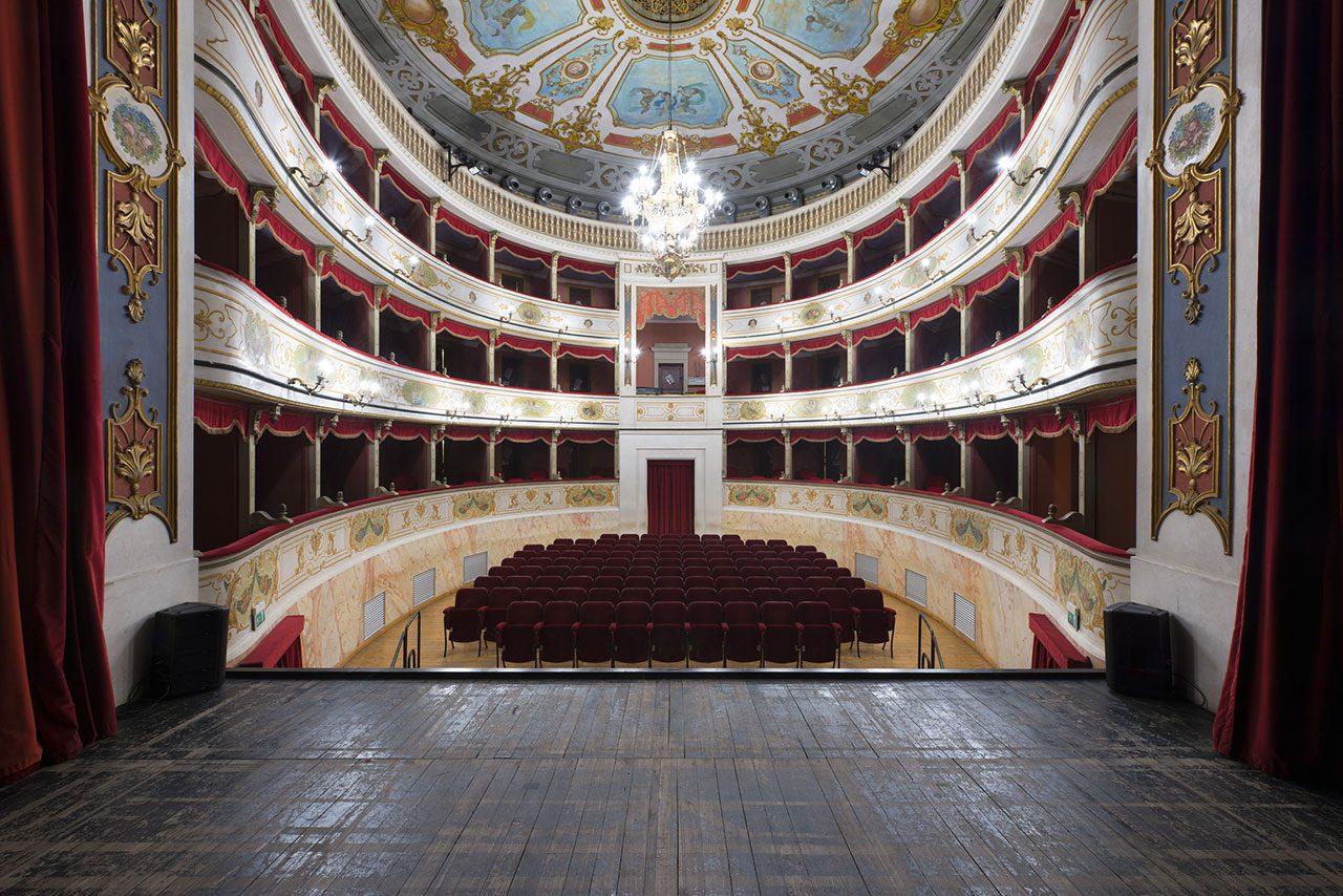 Teatro della Rocca Franco Tagliavini di Novellara