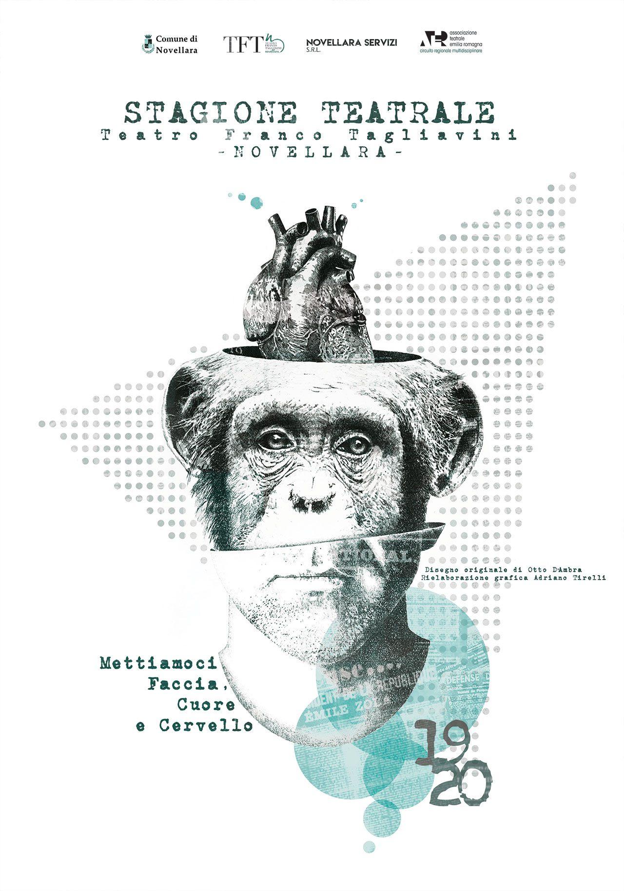 Locandina Stagione Teatrale 2019-20